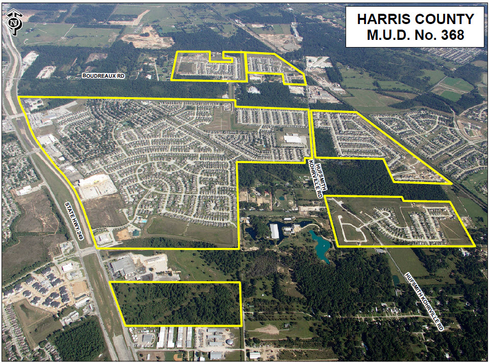 About – Harris County Municipal Utility District 368